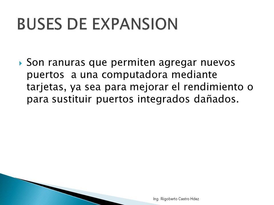 BUSES DE EXPANSION