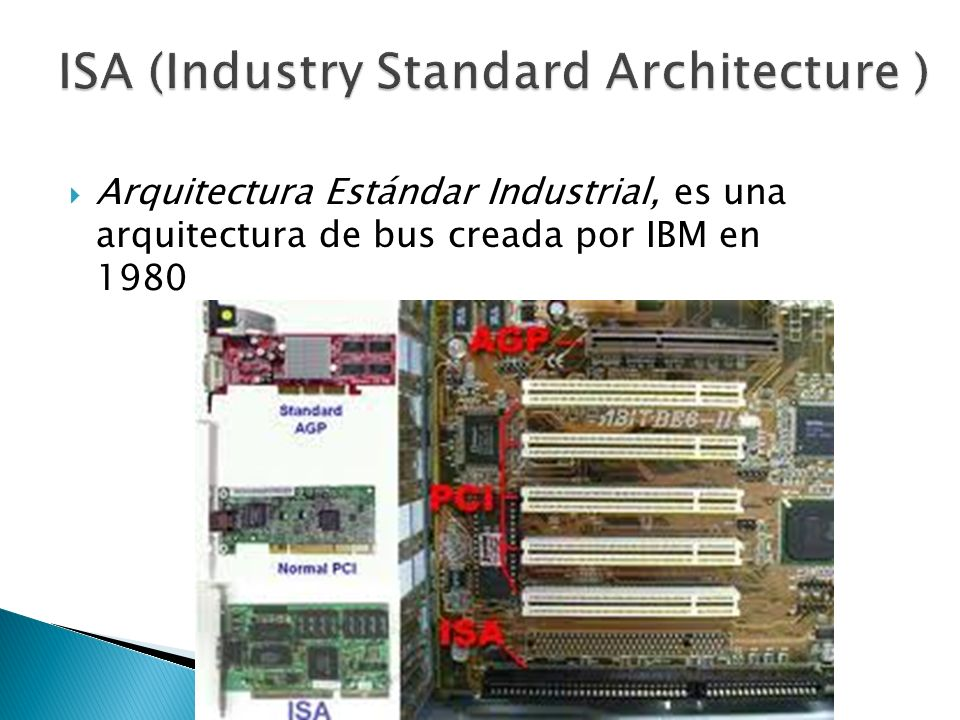 ISA (Industry Standard Architecture )