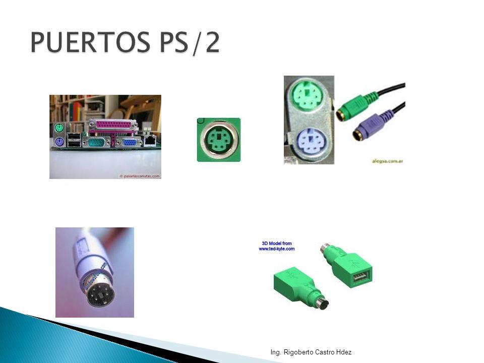 PUERTOS PS/2 Ing. Rigoberto Castro Hdez