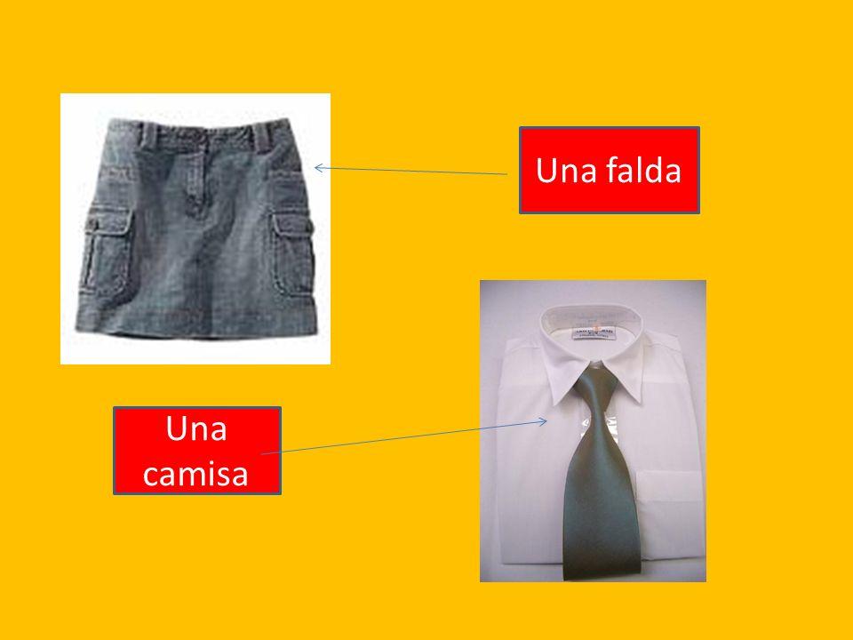 Una falda Una camisa