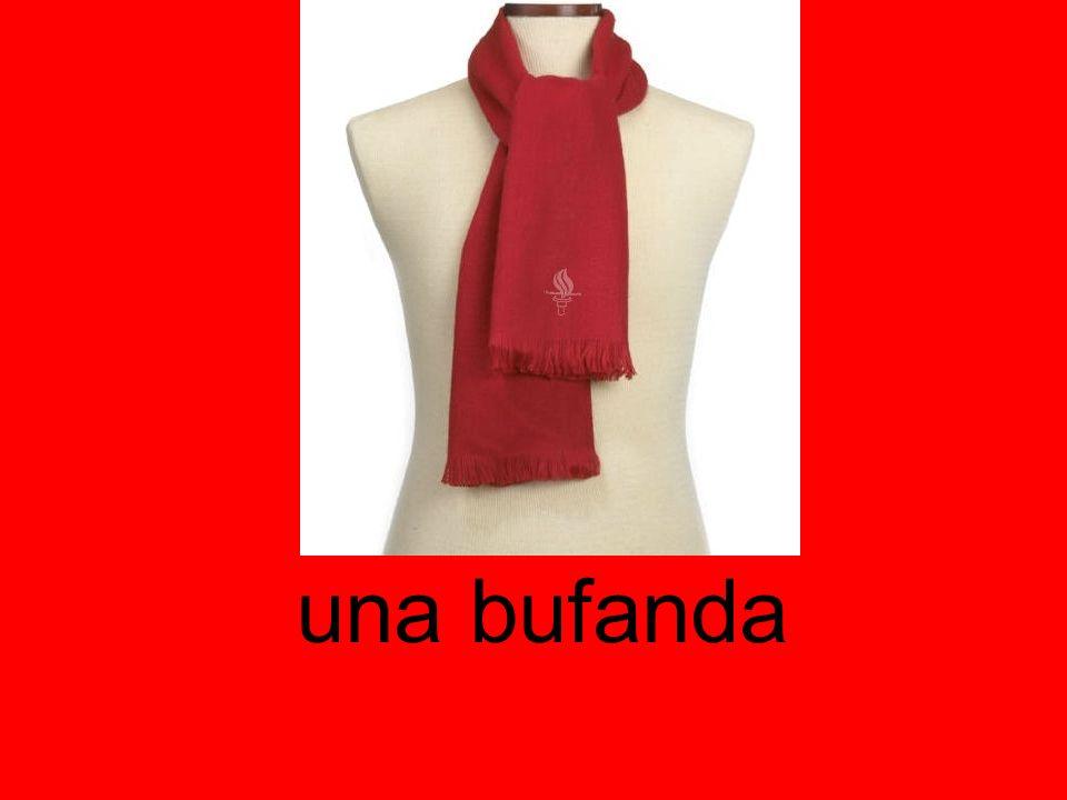 una bufanda