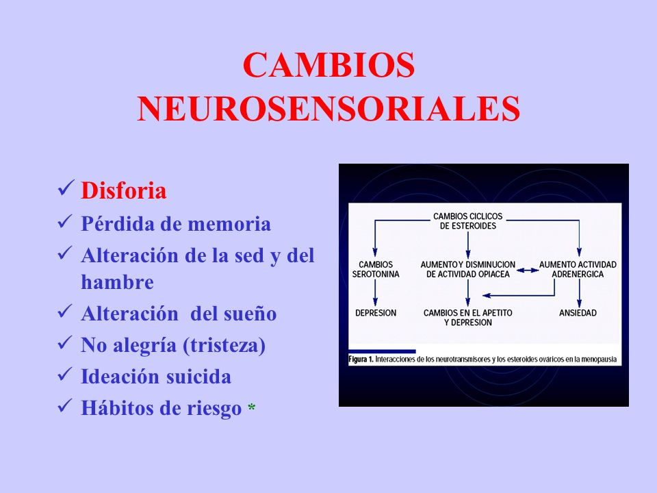 CAMBIOS NEUROSENSORIALES