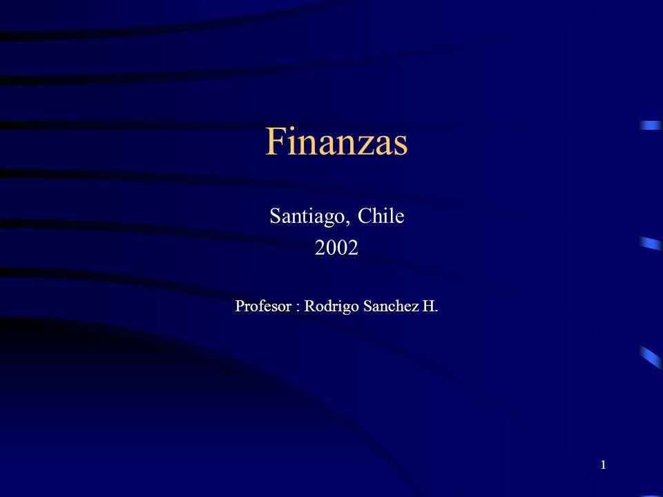 Profesor : Rodrigo Sanchez H.
