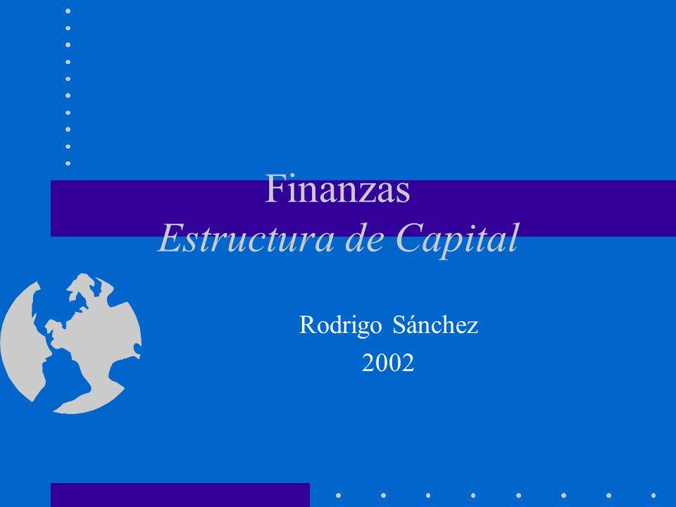 Finanzas Estructura de Capital