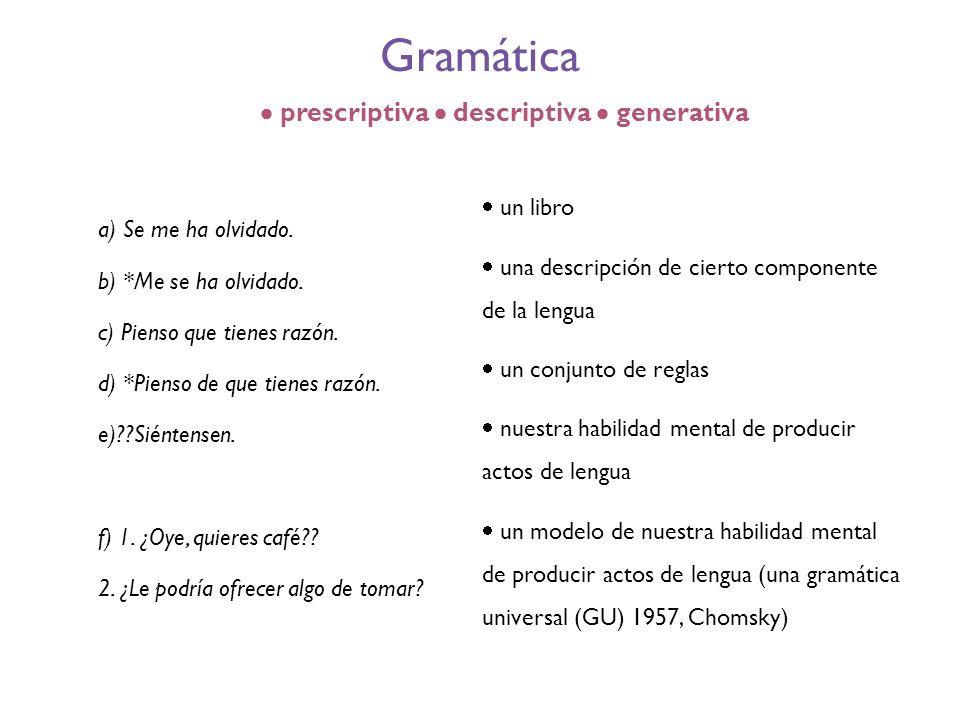  prescriptiva  descriptiva  generativa