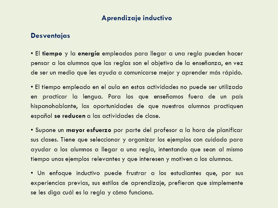 Aprendizaje inductivo