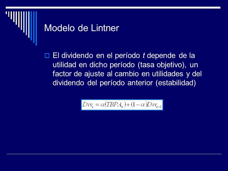 Modelo de Lintner