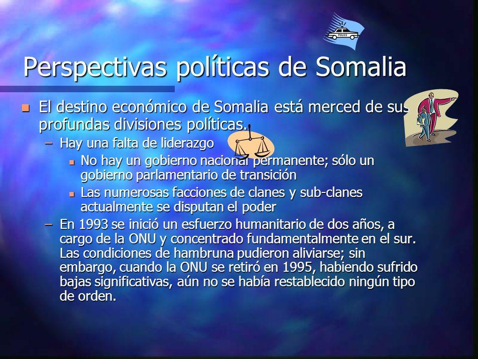 Perspectivas políticas de Somalia