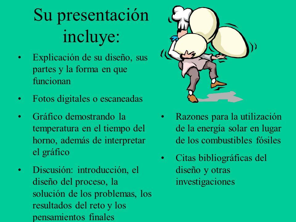 Su presentación incluye: