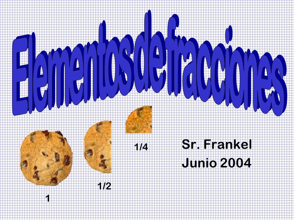Elementos de fracciones
