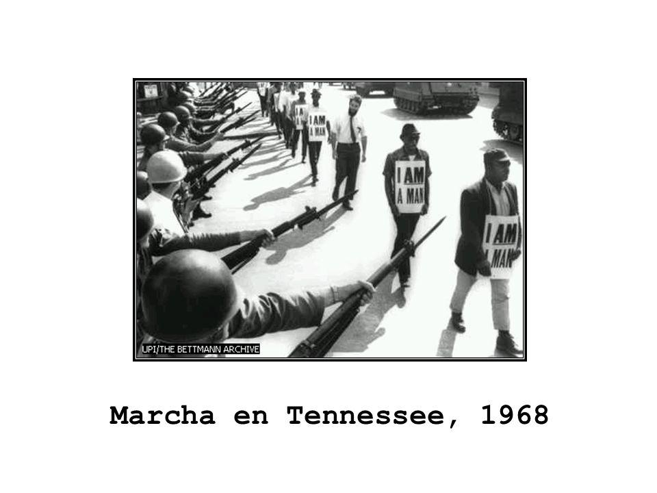 Marcha en Tennessee, 1968