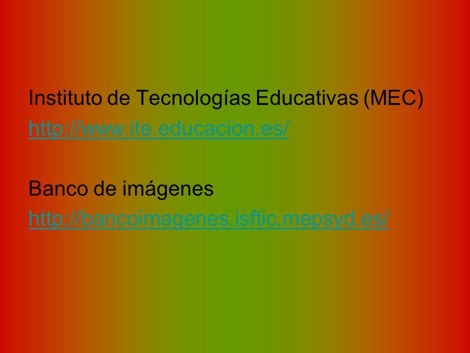 Instituto de Tecnologías Educativas (MEC)