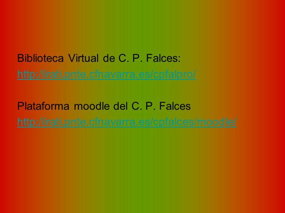 Biblioteca Virtual de C. P. Falces: