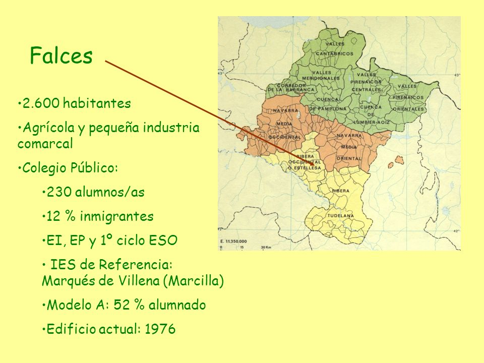 Falces 2.600 habitantes Agrícola y pequeña industria comarcal