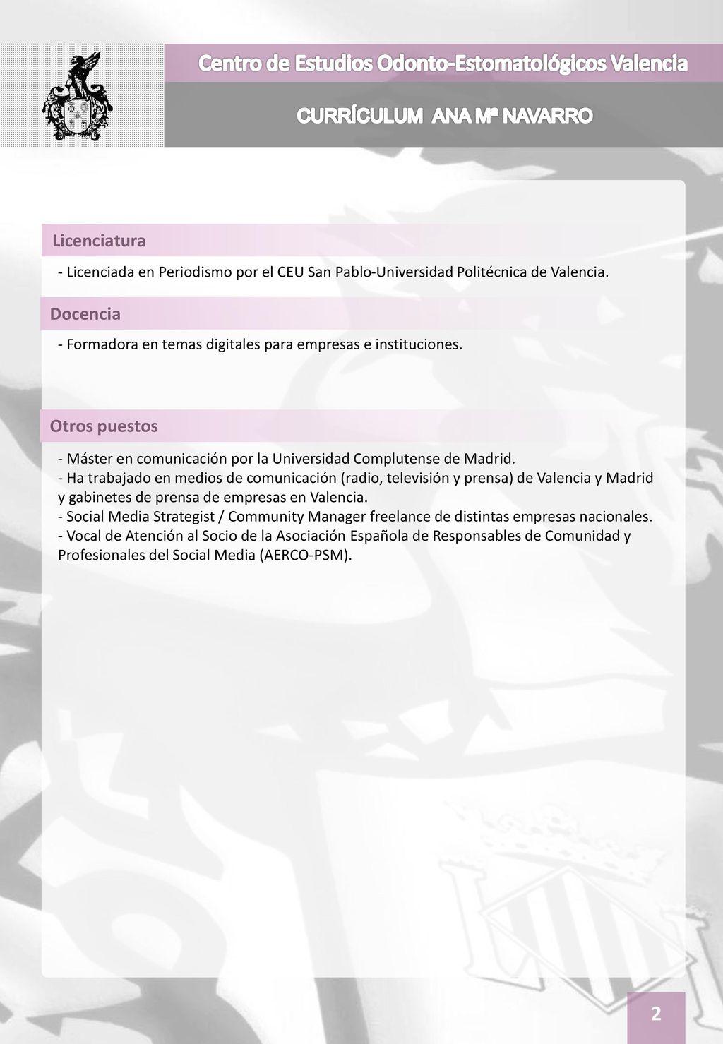 Atractivo Mejor Plantilla De Currículum De Periodista Elaboración ...
