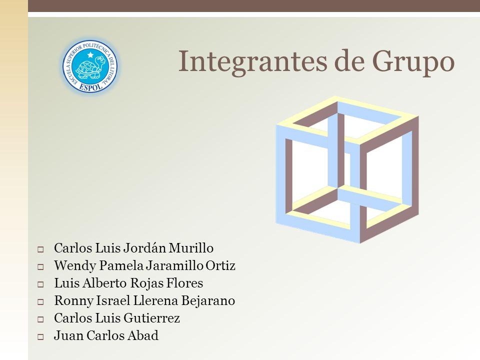 Integrantes de Grupo Carlos Luis Jordán Murillo