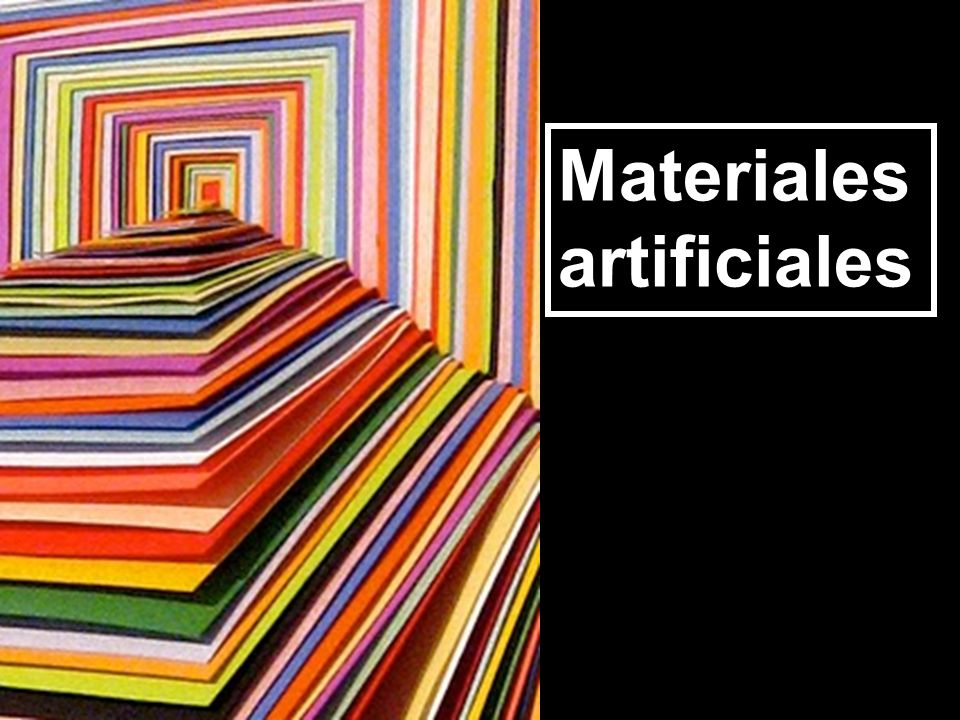 Materiales artificiales
