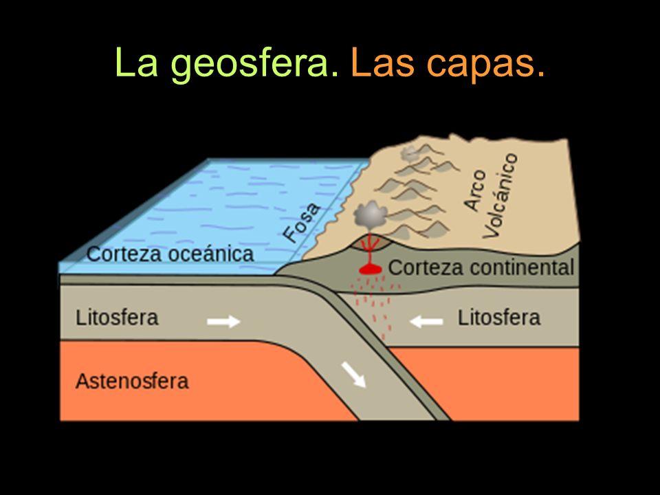 La geosfera. Las capas.