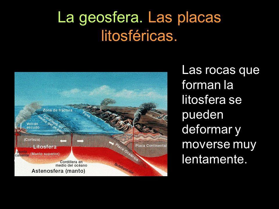 La geosfera. Las placas litosféricas.