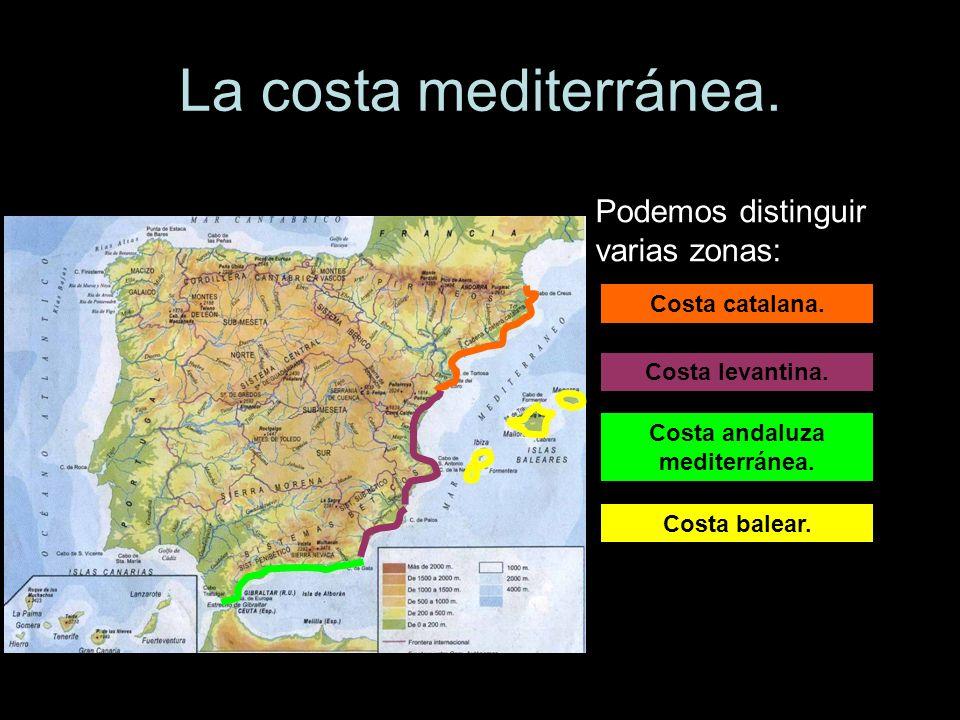 Costa andaluza mediterránea.
