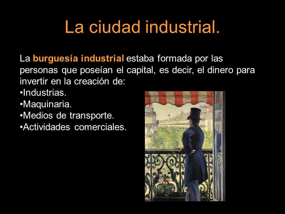 La ciudad industrial.