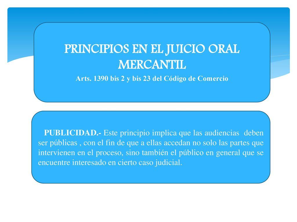 Procedimiento oral mercantil ppt descargar principios en el juicio oral mercantil ccuart Choice Image