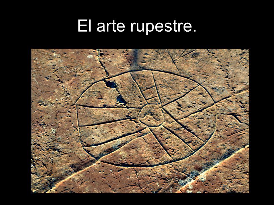 El arte rupestre.