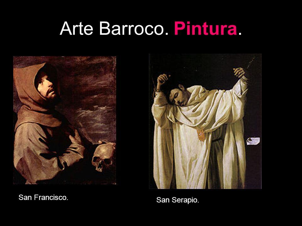Arte Barroco. Pintura. San Francisco. San Serapio.