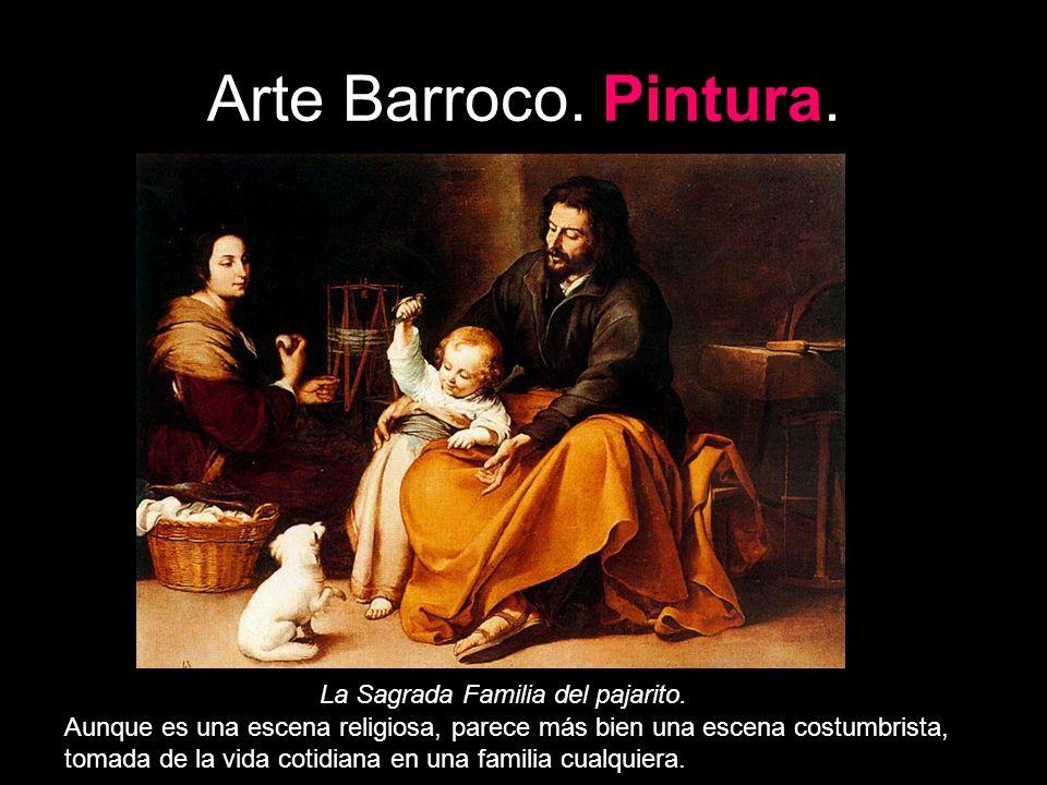 Arte Barroco. Pintura. La Sagrada Familia del pajarito.