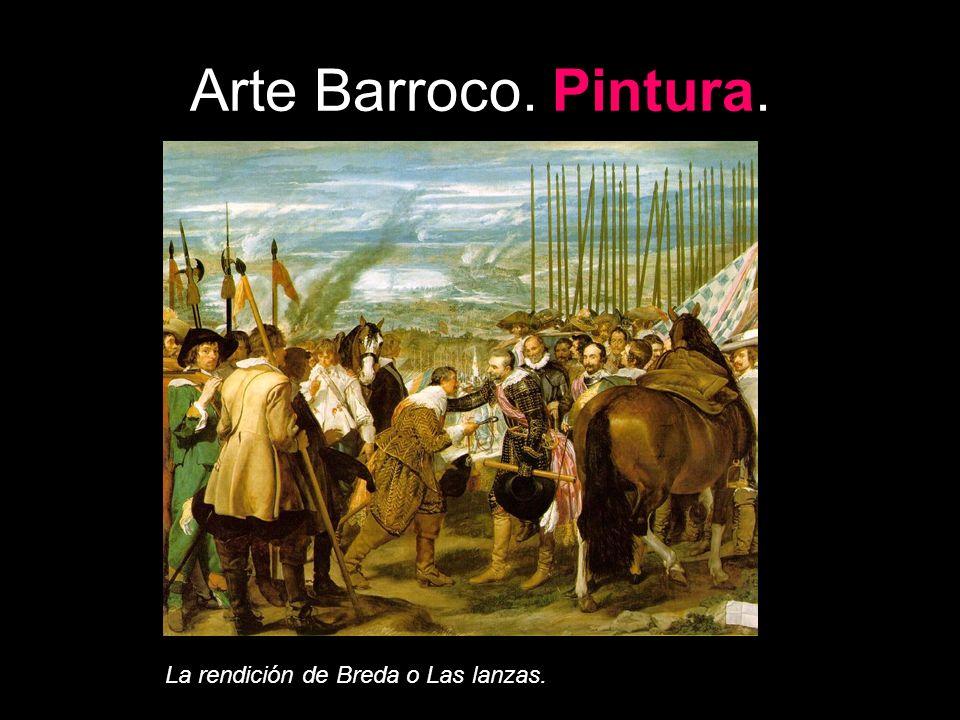 Arte Barroco. Pintura. La rendición de Breda o Las lanzas.