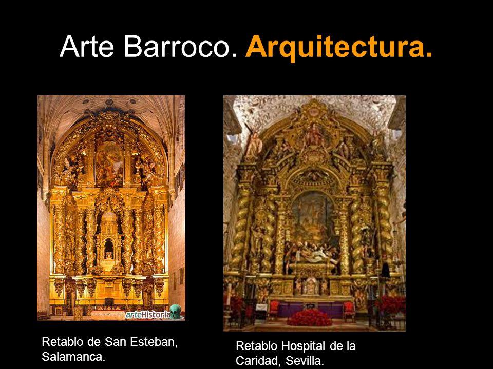 Arte Barroco. Arquitectura.