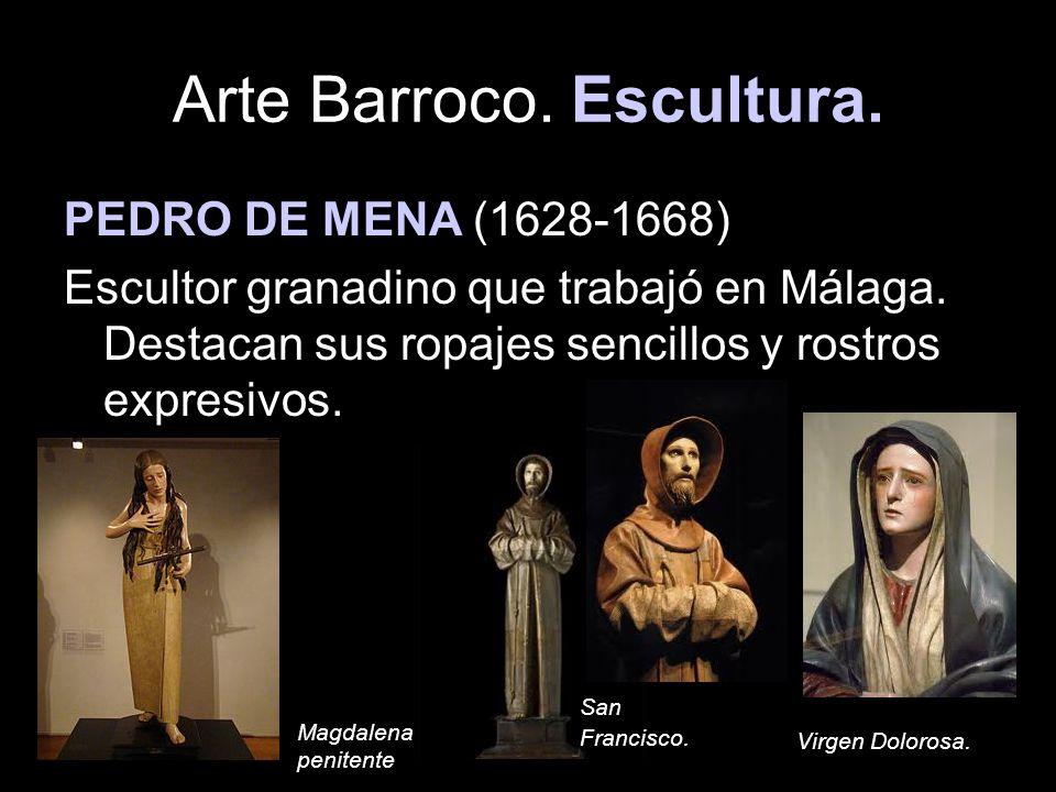 Arte Barroco. Escultura.