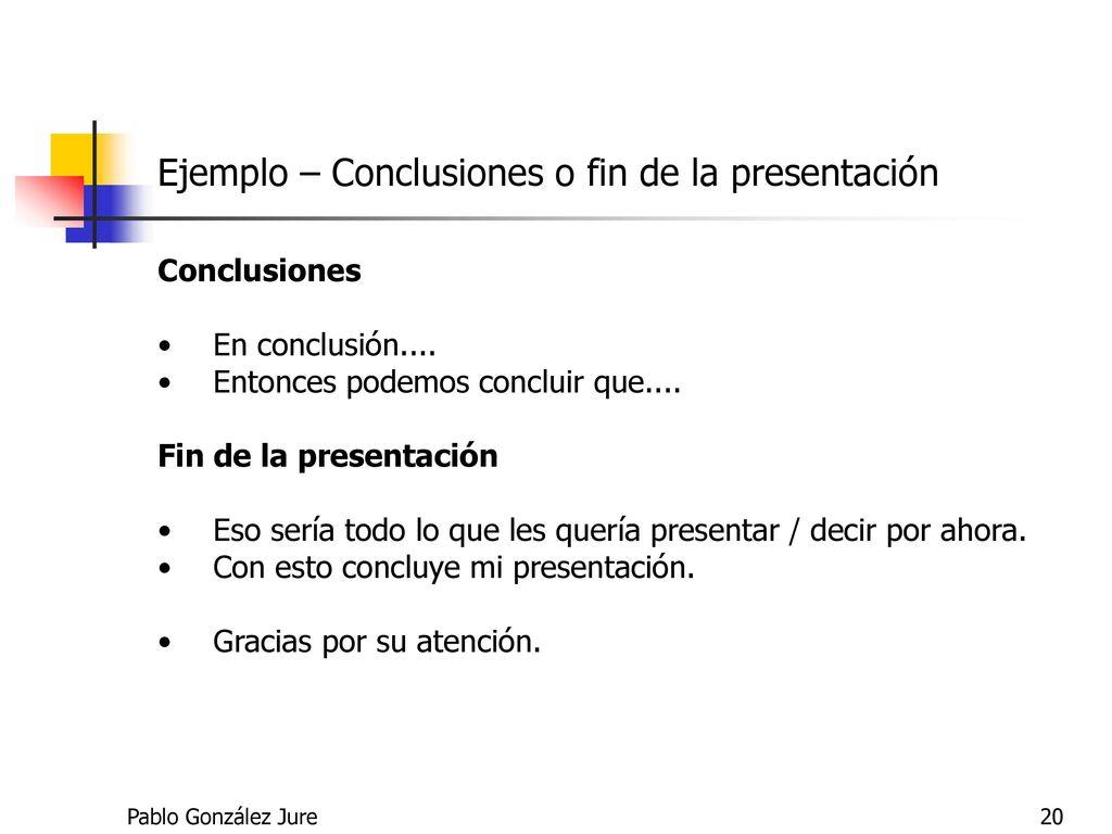 Ziemlich Ejemplo De Conclusion De Un Resucen Ideen - Beispiel ...