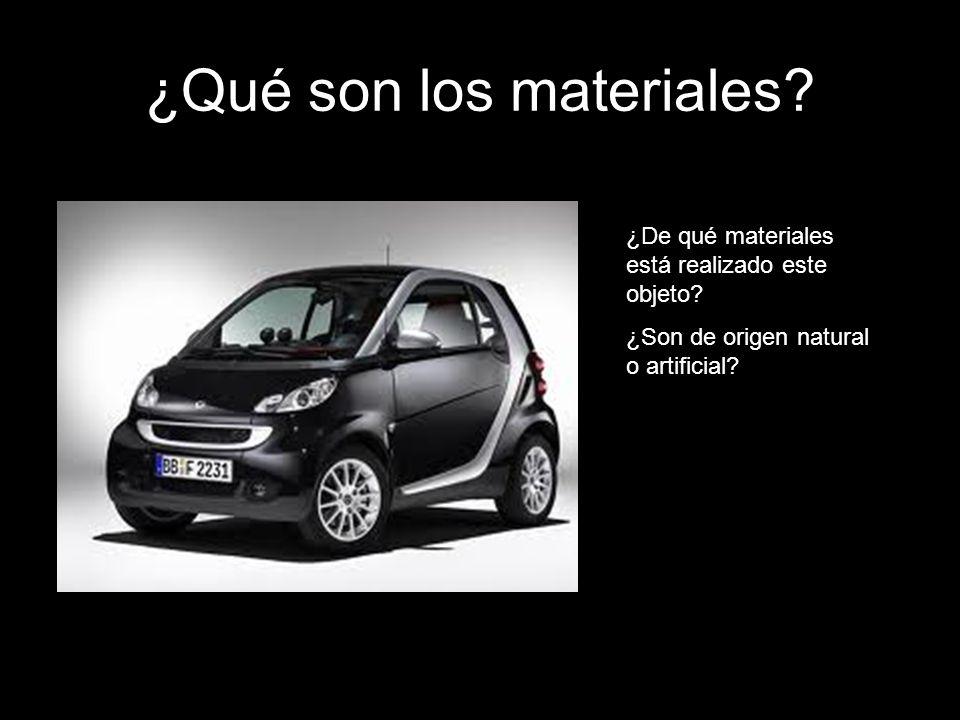 ¿Qué son los materiales