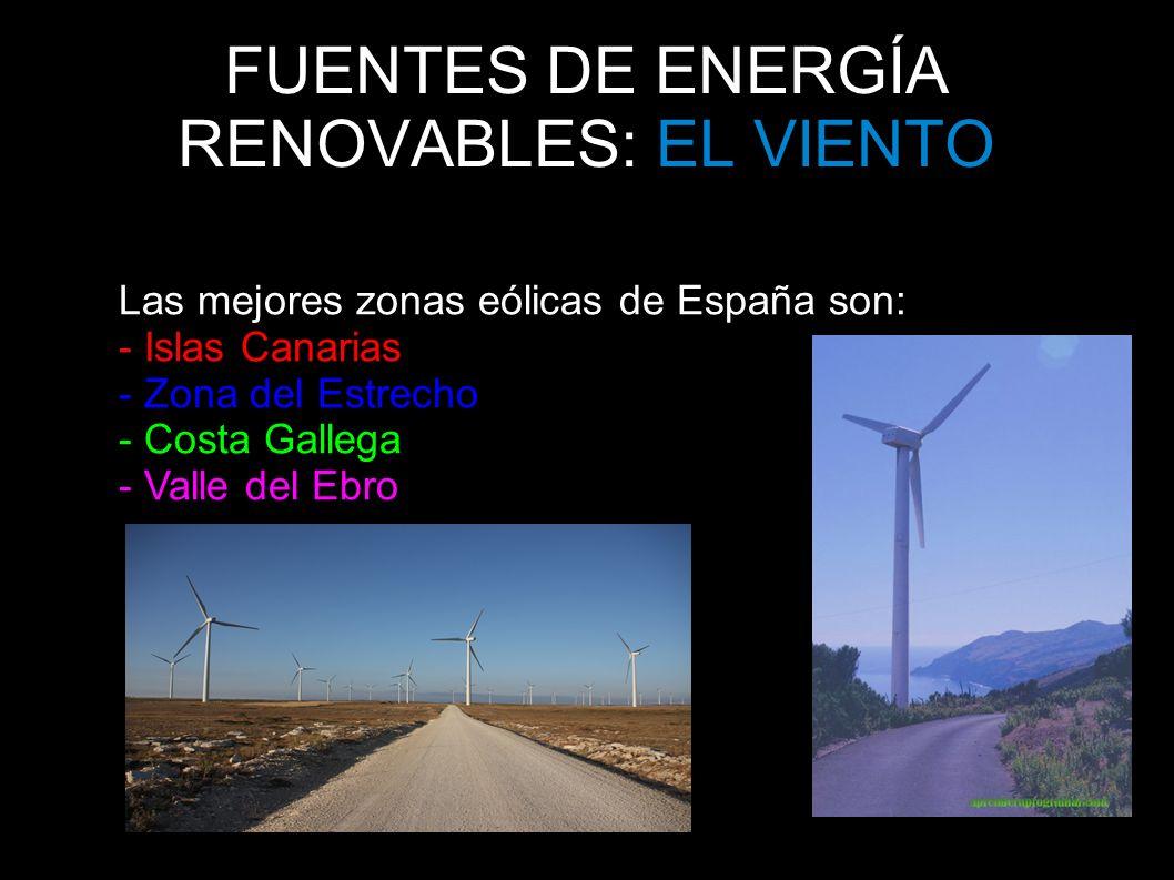 FUENTES DE ENERGÍA RENOVABLES: EL VIENTO
