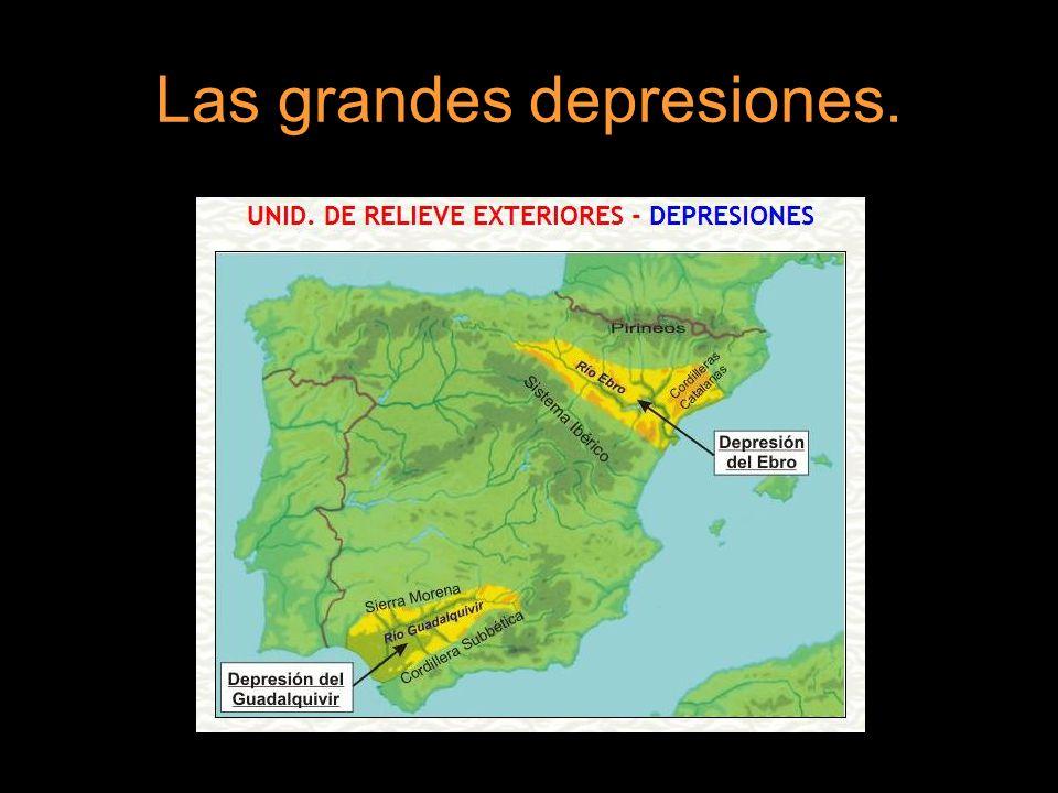 Las grandes depresiones.