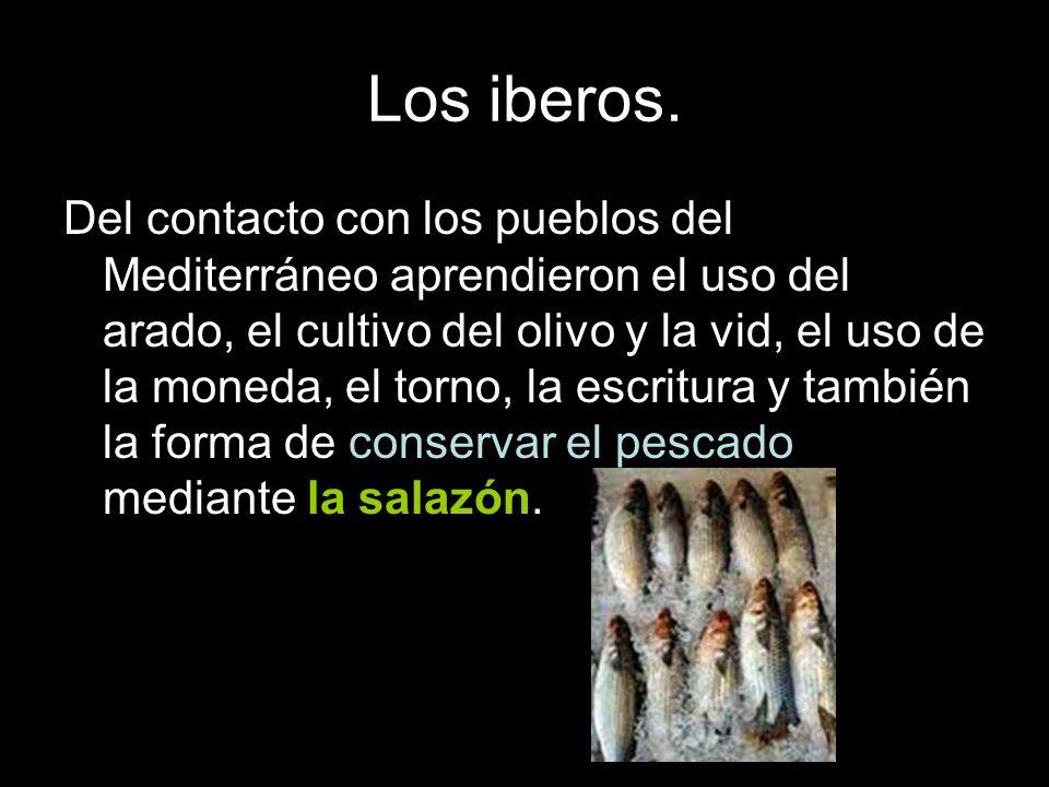Los iberos.