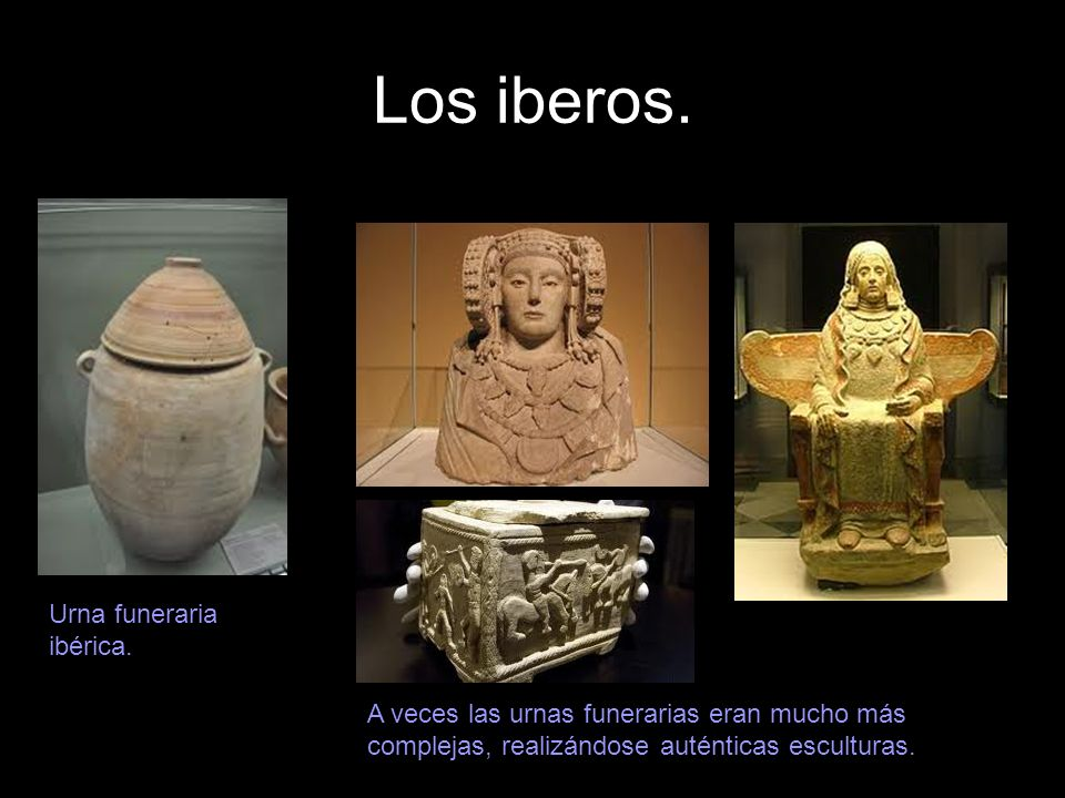 Los iberos. Urna funeraria ibérica.