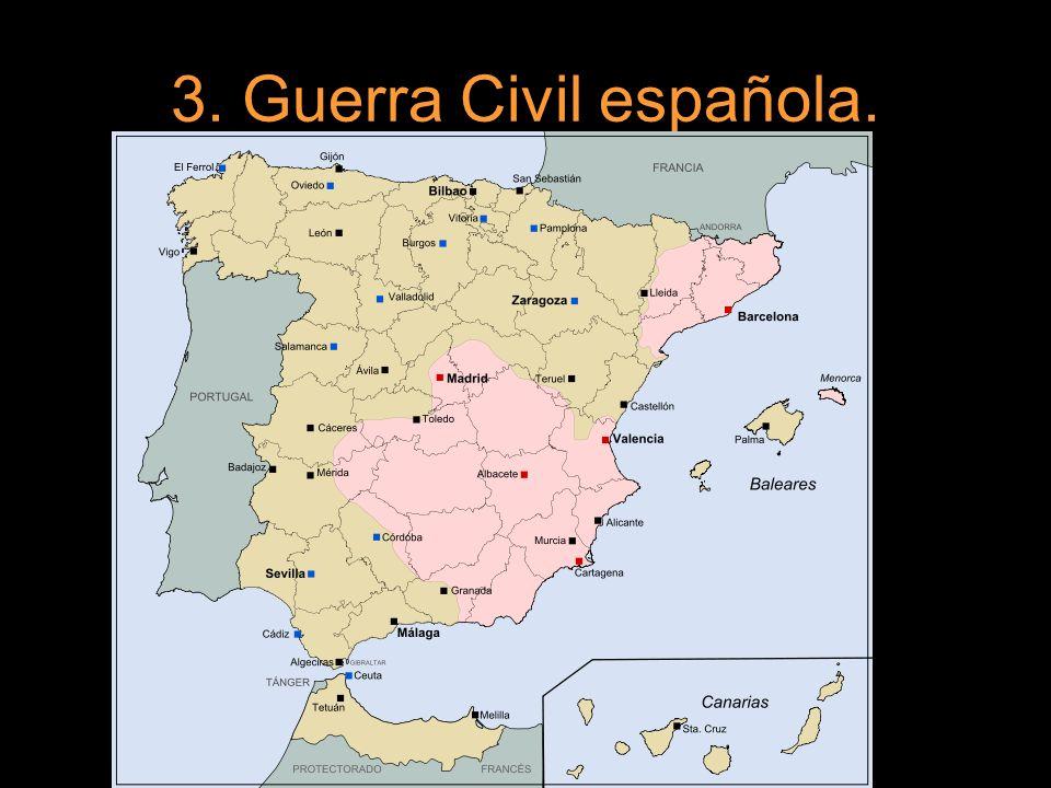 3. Guerra Civil española.