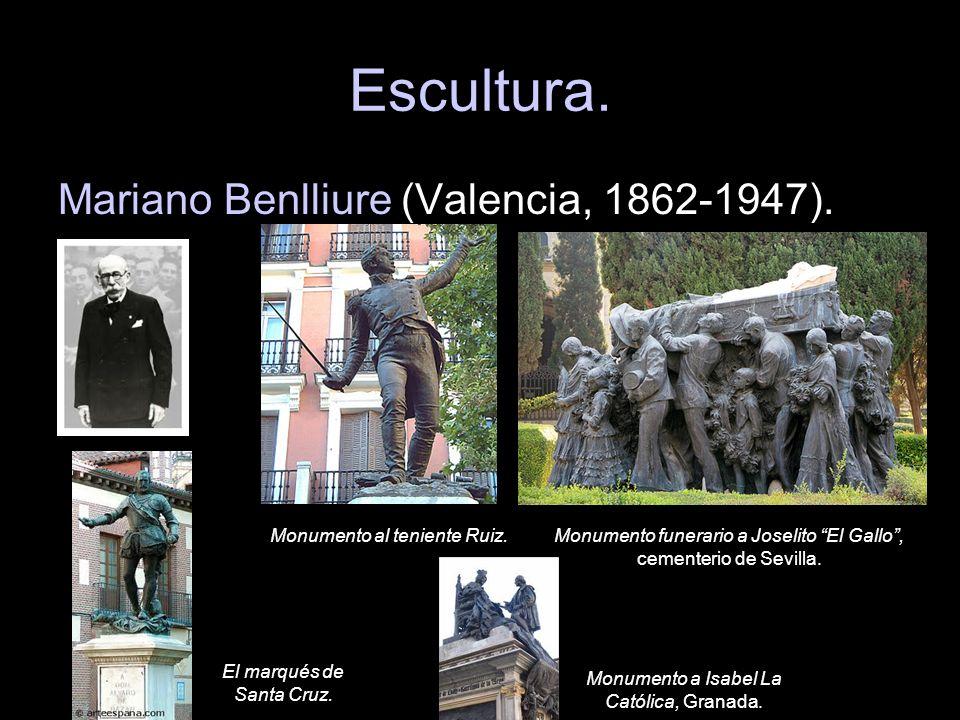 Escultura. Mariano Benlliure (Valencia, 1862-1947).