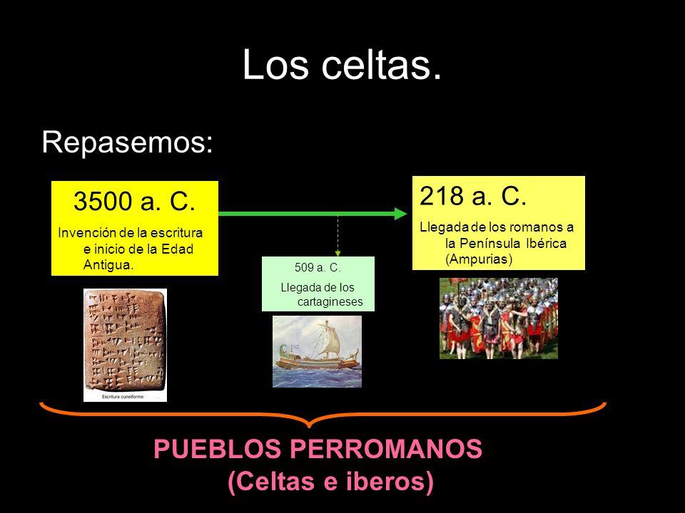 PUEBLOS PERROMANOS (Celtas e iberos)