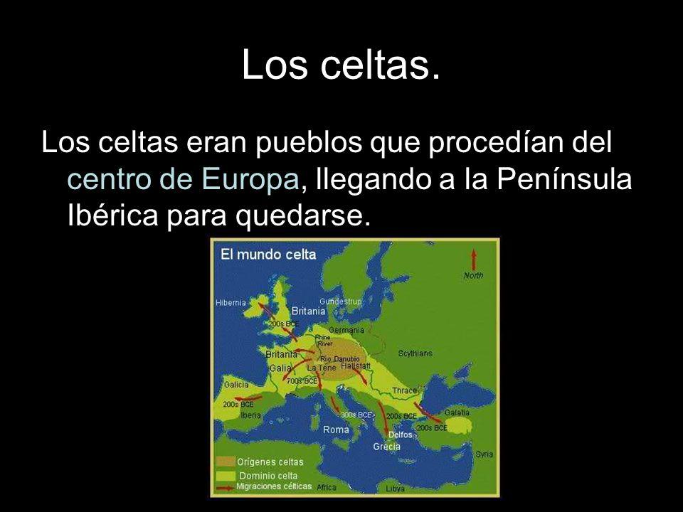 Los celtas.