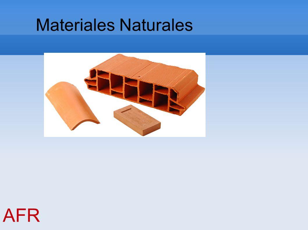 Materiales Naturales AFR