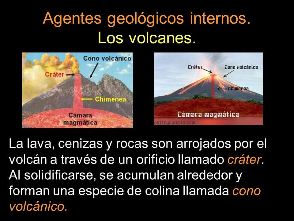 Agentes geológicos internos. Los volcanes.