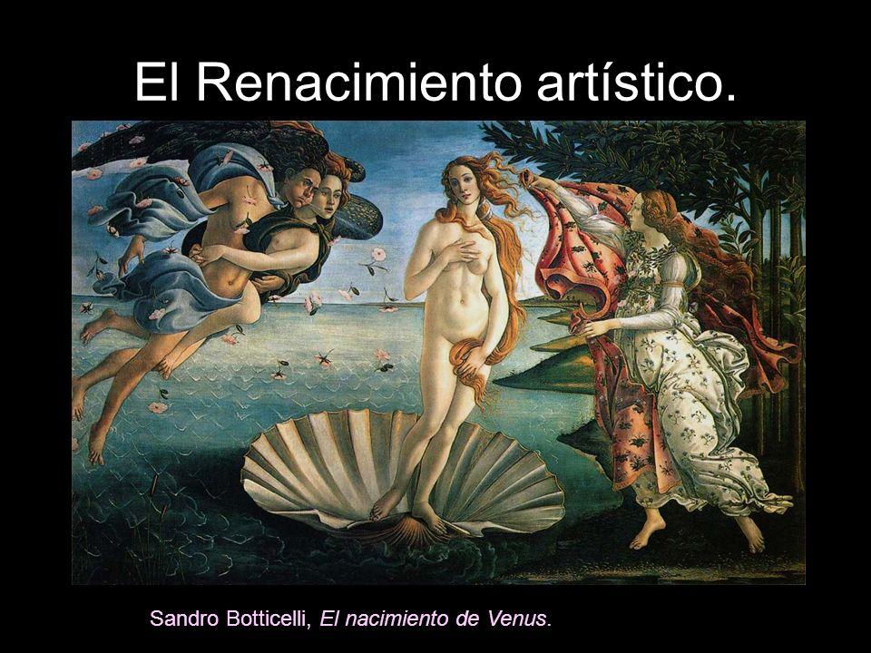 El Renacimiento artístico.