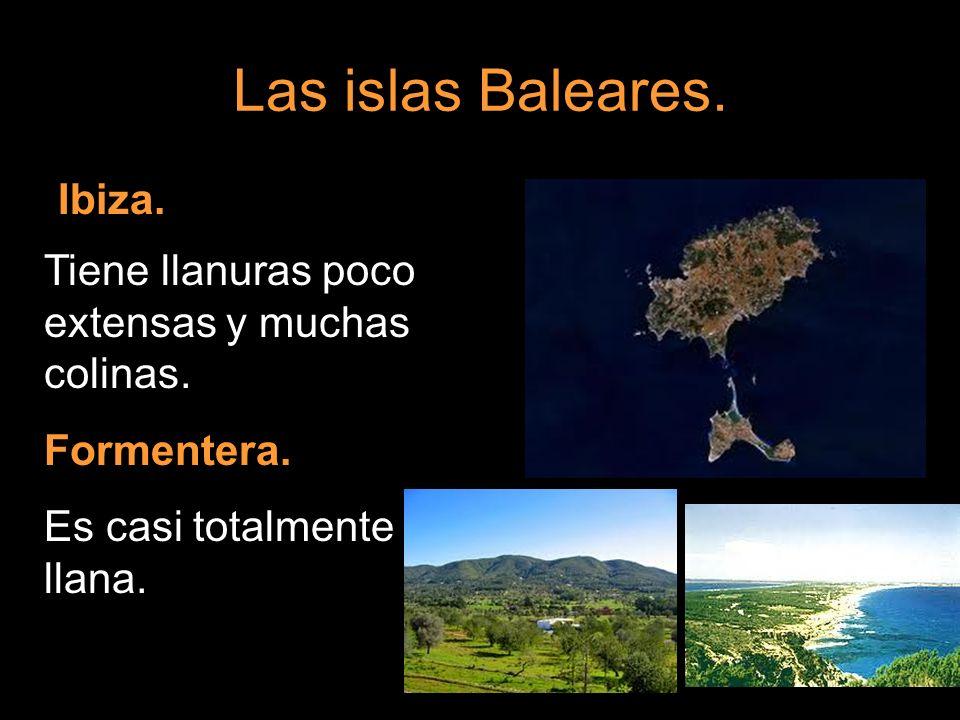Las islas Baleares. Ibiza.