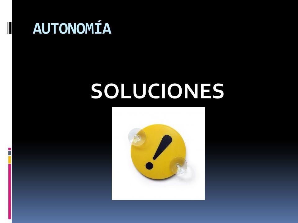 AUTONOMÍA SOLUCIONES
