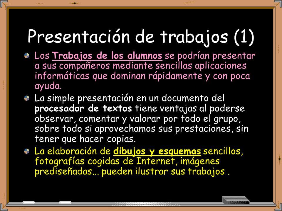 Presentación de trabajos (1)