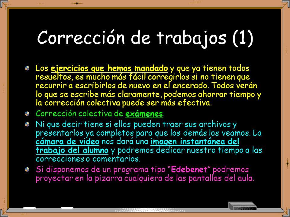 Corrección de trabajos (1)