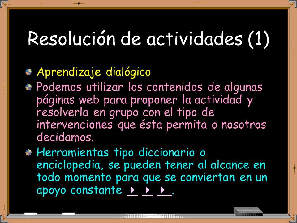 Resolución de actividades (1)